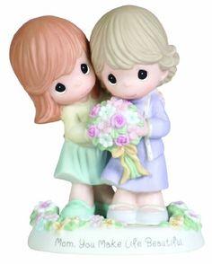 "Precious Moments ""Mom, You Make Life Beautiful"" Figurine Precious Moments http://www.amazon.com/dp/B004OVE6W4/ref=cm_sw_r_pi_dp_YIwvub0ZRNTDV"