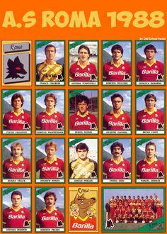 AS Roma 1988.