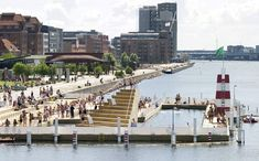 In Copenhagen – the capital city of Denmark – one of the trendiest spots is the public outdoor swimming facility in the Islands Brygge area where Copenhageners come to relax during the summer. Read more here: http://denmark.dk/en/green-living/copenhagen/swimming-in-copenhagen-harbour/ #findyourjoy #denmark #bucketlist