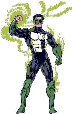 Green Lantern Kyle Vector by 10vecesDnL