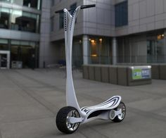 If you're too lazy to walk, or perhaps want to get around in style, this concept CT-S electric scooter might be of interest to you. Designed by...