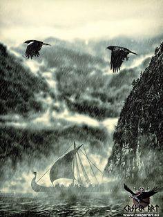 Vikings by Casper Art