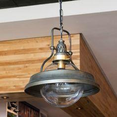 Galley Pendant Light Fixture - Painted Fox Home Globe Pendant Light, Pendant Light Fixtures, Industrial Pendant Lights, Antique Light Fixtures, Cabin Lighting, Home Lighting, Lighting Ideas, Rustic Lighting, Modern Lighting