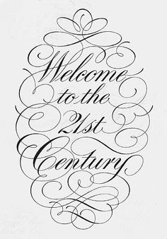 copperplate calligraphy | Photo: The wonderful Copperplate script of England's Freddie Marns.
