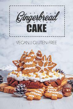 Vegan & Gluten-free Christmas Gingerbread Cake - UK Health Blog - Nadia's Healthy Kitchen