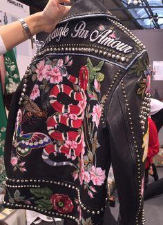 Backstage at Gucci