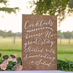 Hey, I found this really awesome Etsy listing at https://www.etsy.com/listing/250260433/wedding-cocktails-sign-wedding-bar-sign