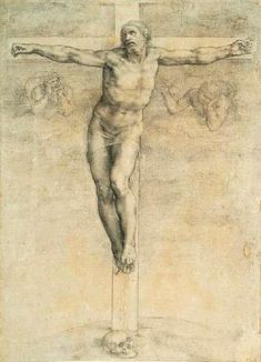 """HowStuffWorks """"Crucifixion (c. 1541) by Michelangelo"""""""