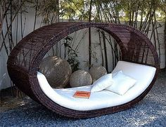 reading chair for the yard, or perhaps for a breezy nap?
