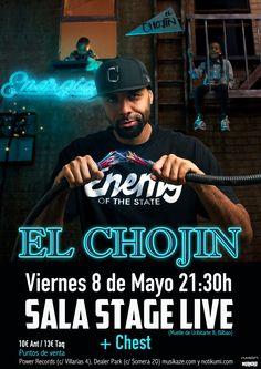 Concierto de El Chojin en Bilbao