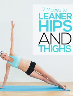 Moves to Leaner Hips and Thighs Focus just on your lower body with these 7 Moves to Leaner Hips and Thighs! Focus just on your lower body with these 7 Moves to Leaner Hips and Thighs! Fitness Motivation, Fitness Diet, Fitness Goals, Health Fitness, Fitness Workouts, Rogue Fitness, Free Fitness, Leg Workouts, Workout Exercises