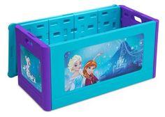 disney frozen bedroom in a box. disney frozen bedroom set with bonus toy organizer, multicolor | bedroom, and in a box