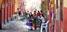 Under the Spell of San Miguel de Allende Ever since American Stirling Dickinson arrived there in 1937, the Mexican town has been a magnet for artists and U.S. expatriates