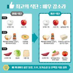 Fitness Diet, Health Fitness, Korean Diet, Diet Recipes, Healthy Recipes, Diet Planner, Gluten Free Diet, Summer Body, Diet Meal Plans