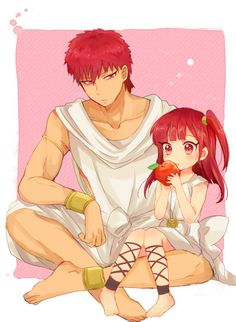Magi they're like brother and sister :)