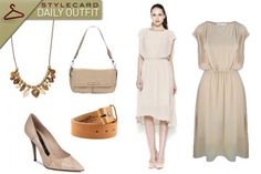 Day to Night Taupe   StyleCard Fashion Portal  http://style-card.co.uk/portal/2013/06/daily-outfit-day-to-night-taupe/