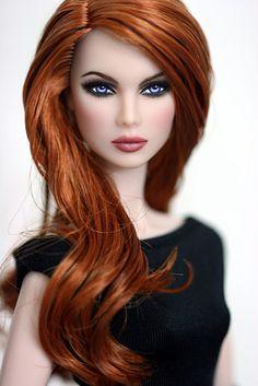 Barbie ruiva, mesmo linda!                                                                                                                                                                                 Mais