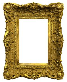 Antique Gold Picture Frames | Antique Gold Frame Png Gold antique frame.png