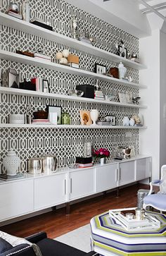 11 Ways to Expertly Style Your Bookshelves