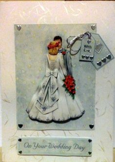 Wedding Card - Creative Connections £2.50 #CRAFTfest