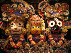 Ratha-Yatra (Puri), at Puri in the state of Orissa, India. The oldest, biggest and most visited Rath Yatra in the world.