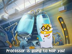 And get Professor Plank to help little Vixes!