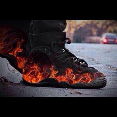 FLAMING FOAMPOSITE! on The Hunt