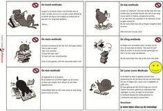 Dieren leermethoden