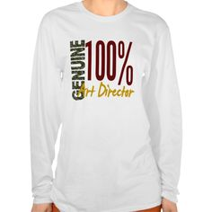 Genuine Art Director T Shirt, Hoodie Sweatshirt