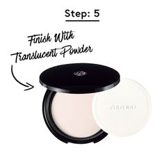 Set your lipstick with a translucent powder for ultimate staying power