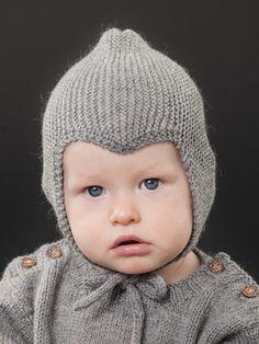 Neulottu vauvan myssy Novita Nalle | Novita knits