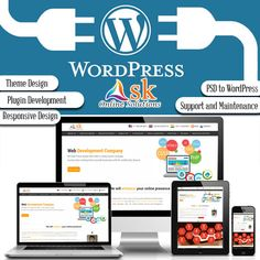 We at Ask Online Solutions have been developing WordPress websites for long and this gives us the skill and flair to offer you a crisp, intelligent and insightful website. #WordPressDevelopment