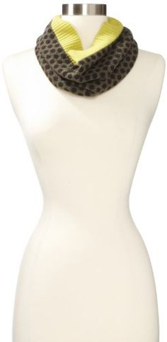 Never2Late Women's Dots N Spots Cowl 100% Cashmere Scarf, Endive Lime, One Size Never2Late,http://www.amazon.com/dp/B007F940MS/ref=cm_sw_r_pi_dp_hfjEsb09TMNGZJBE