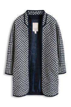 Esprit – Žakárová pelerína z bavlněné směsi v našem on-line shopu