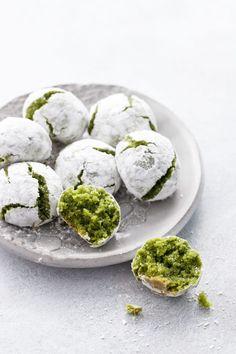 Matcha Amaretti Cookies | Love and Olive Oil