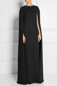 VALENTINO Cape-back silk-crepe gown €3,980.00 http://www.net-a-porter.com/products/508514