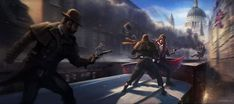 Train Raid - Characters & Art - Assassin's Creed Syndicate