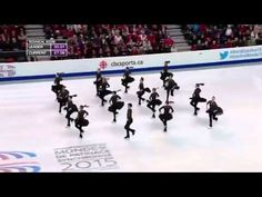 Watch: Team Canada's Amazing Performance At The 2015 World Synchronized Skating Championships