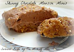 Survival Guide by The Working Mom: Skinny Chocolate Mousse Recipe: A Greek Yogurt Recipe