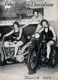 Harley-Davidson Museum ArteHouse - Harley Beauties The HD Enthusiast March 1928