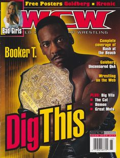 Booker T : WCW World Heavyweight Champion - WCW... - WCW WorldWide