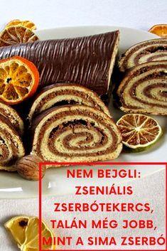 NEM BEJGLI: Zseniális zserbótekercs, talán még jobb, mint a sima zserbó Hungarian Desserts, Hungarian Cake, Hungarian Recipes, Christmas Sweets, Homemade Cookies, Winter Food, Macaroons, Sweet Recipes, Cookie Recipes