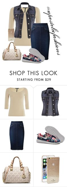 """Apostolic Fashions #1419"" by apostolicfashions on Polyvore featuring beauty, Sarah Pacini, maurices, Citizens of Humanity, MICHAEL Michael Kors and Kate Spade"