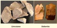 limestone and dolomite Rocks