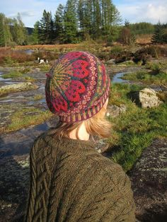 Ravelry: Maud - beret pattern by Alice Starmore