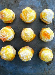 You need to make peach donut cupcakes before summer is over