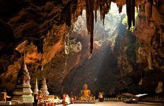 La mística y mágica cueva de Khao Luang