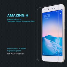 Buy xiaomi redmi 5A Tempered Glass Screen Protector NILLKIN Amazing H Nanometer Anti-Explosion glass protective film for redmi 5A ....click link to buy....  #iphone #iphone8 #iphone7
