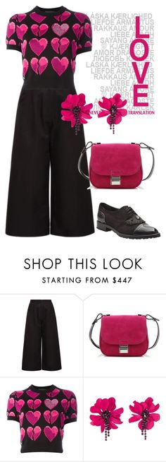 """""""Love"""" by i-teddybear on Polyvore featuring Noon by Noor, Proenza Schouler, Philipp Plein and Lanvin"""