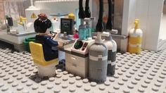 #HarryPotter #Scientist #laboratory #LEGO